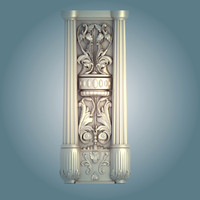 home house column ornament 3ds