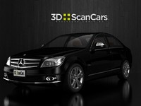 mercedes benz c280 3d 3ds