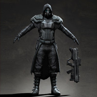 Assassin alien soldier