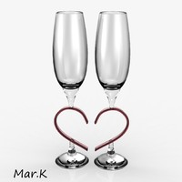 3d model of wedding goblet
