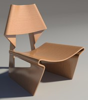 greette chair 3d max