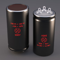 JJ Dual Can Capacitor