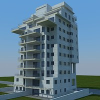buildings 2 1 3d max