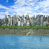 3d lwo modular city