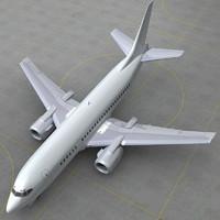 boeing 737 500 generic 3ds