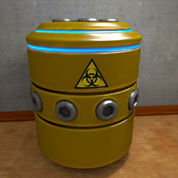 Container Barrel SciFi