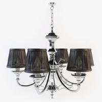 Eichholtz - 6 arm chandelier LIG04361