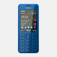 3d nokia 206 mobile phone