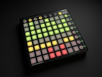 3d model of launchpad novation