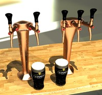 free max model tap beer tower