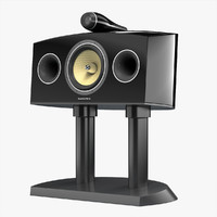 bowers wilkins htm4 3d model