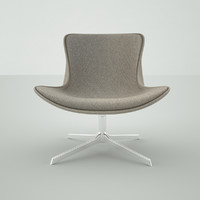 3ds max designer chair modern