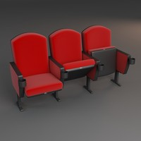 3d seating chair