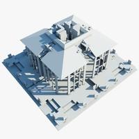 complex structure 3d 3ds