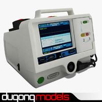 3dsmax dugm04 defibrillator