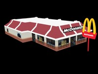 Low Poly McDonald's