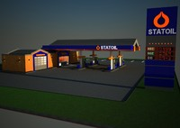 Gas Station Statoil