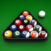3d model pool balls