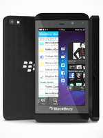 3d model of black blackberry z10