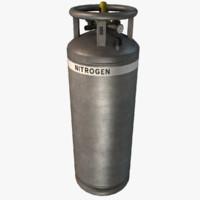 max ready liquid nitrogen tank