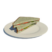 sandwich obj