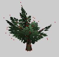 free shrub 3d model