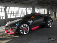 3d citroen survolt 2