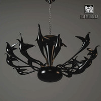 3d model visionnaire limburg chandelier