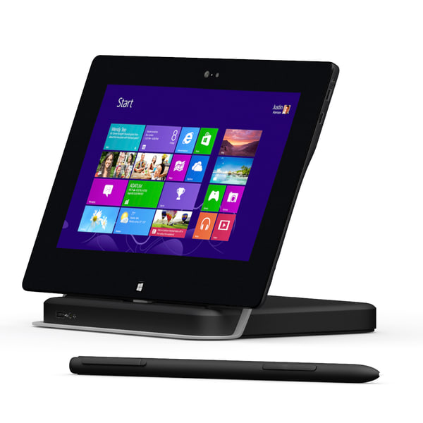 dell latitude 10 dock 3d max - Dell Latitude 10 Dockingstation Pen... by gtalon