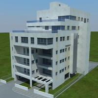 buildings 2 8 1 3d model
