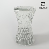 3d model glass modern chair