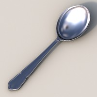 spoon obj