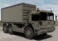 Raba H25 ISO Container Military Truck