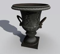 Roman Garden Vase