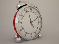 alarm clock 3d c4d