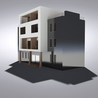 modern generic building max