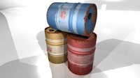 Barrel (3 colours)