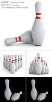 3ds bowling pin