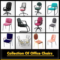 offeice chairs 3d max