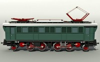 locomotive trains 3d model