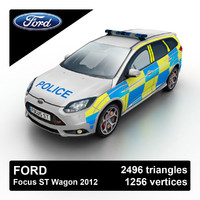 3d 2012 focus st wagon model