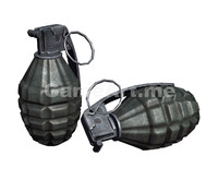 ready fragmentation grenade 3d max