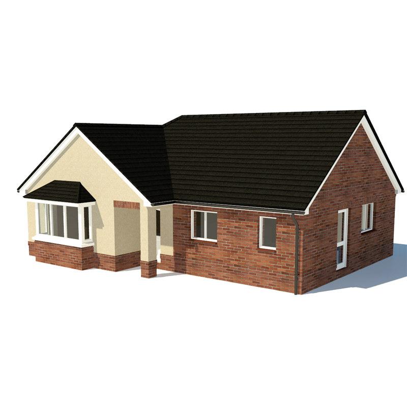 3d house home model Home 3d model