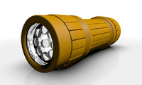 3ds max flashlight led light