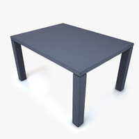 3d fabric table