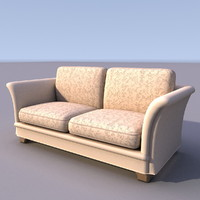 3d model of sofa armchair