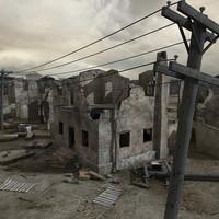 Ruined Scene 01