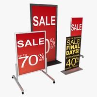 Retail Floor Signage 01