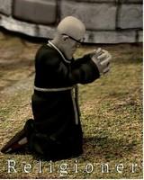 poser character monk poser
