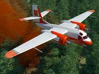 grumman s2f aerial tracker 3d max